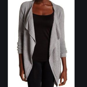 BAREFOOT DREAMS Chic lite cardigan sz L/XL grey